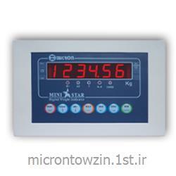 عکس ترازوی وزن کشینشان دهنده وزن دیجیتال مینی استار (باسکولت) میکرون توزین micron towzin