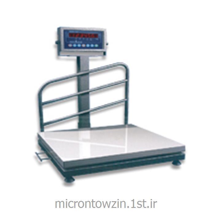 عکس ترازوی وزن کشیباسکولت 600 کیلویی تا 6000 کیلویی دارای قطعه شمار میکرون توزین microntowzin