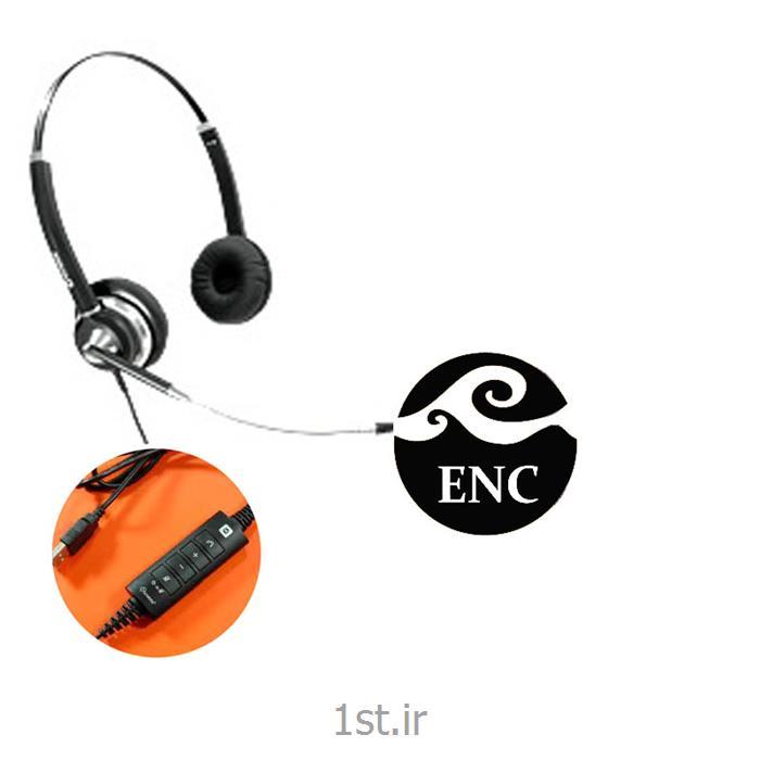 عکس هدست تلفنهدست اداری کامپیوتری اکیوتون سری 1010 Headset Accuton