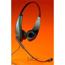 عکس هدست تلفنهدست اداری تلفنی و کامپیوتری اکیوتون سری 710 Headset Accutone
