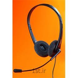 عکس هدست تلفنهدست اداری تلفنی و کامپیوتری اکیوتون سری 200 Headset Accutone