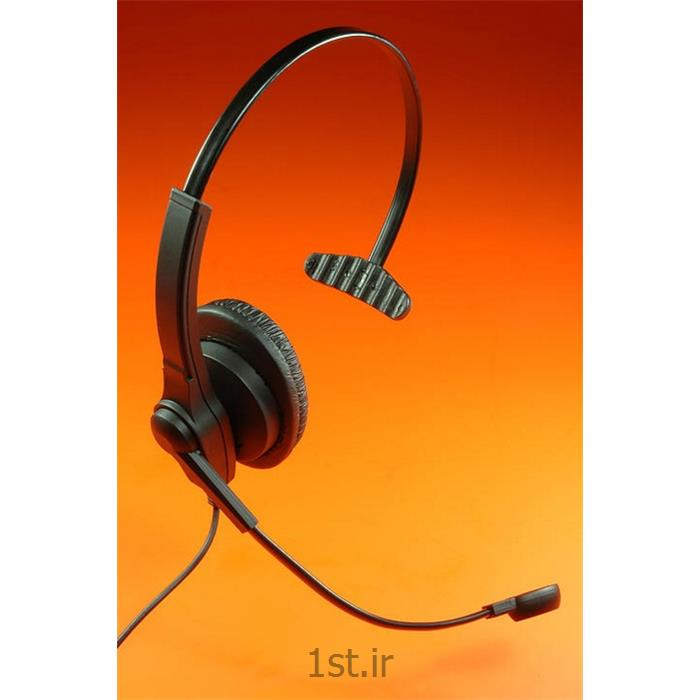 عکس هدست تلفنهدست اداری تلفنی و کامپیوتری اکیوتون سری 610 Headset Accutone