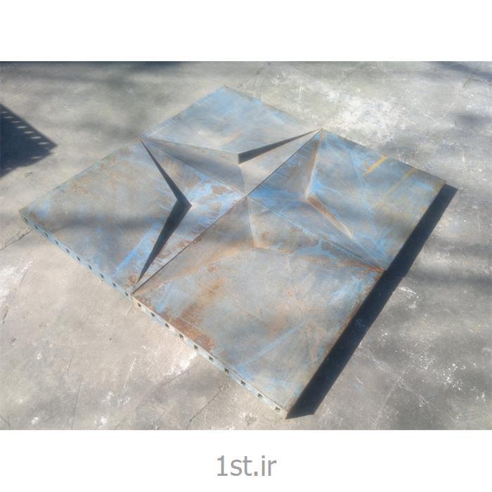 عکس قالب (بتن)قالب فلزی ستاره ای