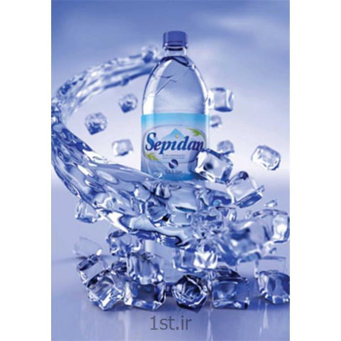 عکس آب معدنیآب معدنی 1/5 لیتری سپیدان