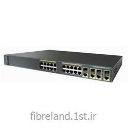 عکس سوئیچ شبکهسوئیچ سیسکو - Switch Cisco - سوئیچ سیسکو WS-C2960G-24TC-L