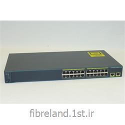 عکس سوئیچ شبکهسوئیچ سیسکو - Switch Cisco - سوئیچ سیسکو WS-C2960-24TT-L