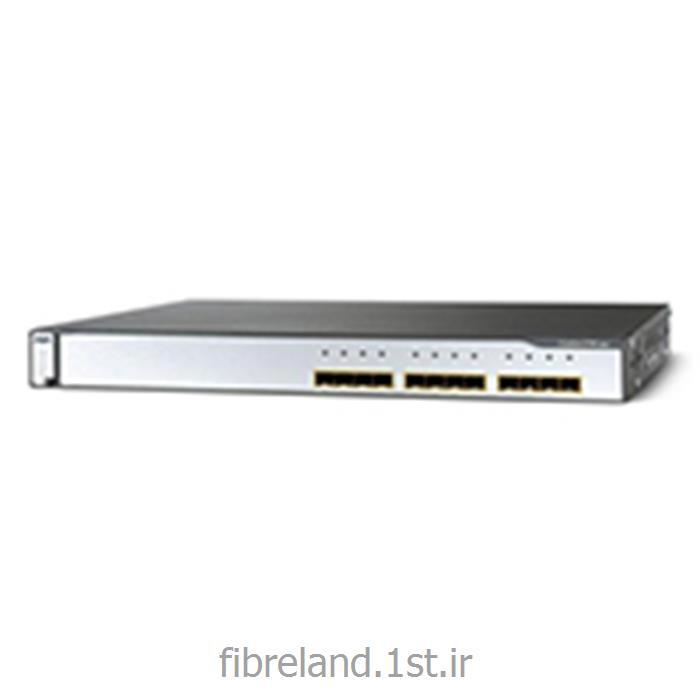 عکس سوئیچ شبکهسوئیچ سیسکو - Switch Cisco - سوئیچ سیسکو WS-C3750G-12S-S