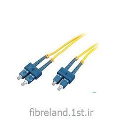 پچ کورد فیبر نوری SC-SC سینگل مود - patch cord single Mode SC-SC