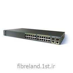 عکس سوئیچ شبکهسوئیچ سیسکو - Switch Cisco - سوئیچ سیسکو WS-C2960-24TC-L