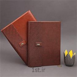 عکس سایر کیف های نگهدارنده کیف چرمی همراه با سررسید با چاپ اختصاصی