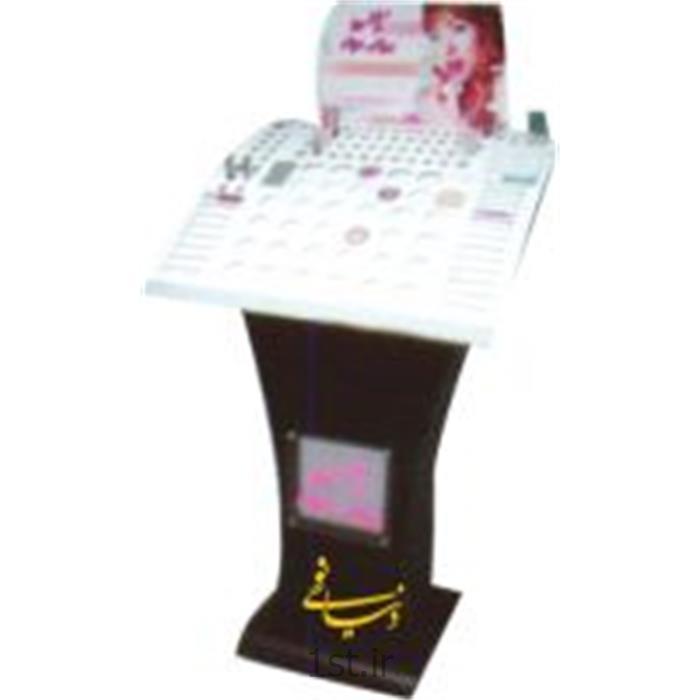 عکس سایر تجهیزات مرتبط با تبلیغاتاستند نمونه جنس( نگهداری جنس )