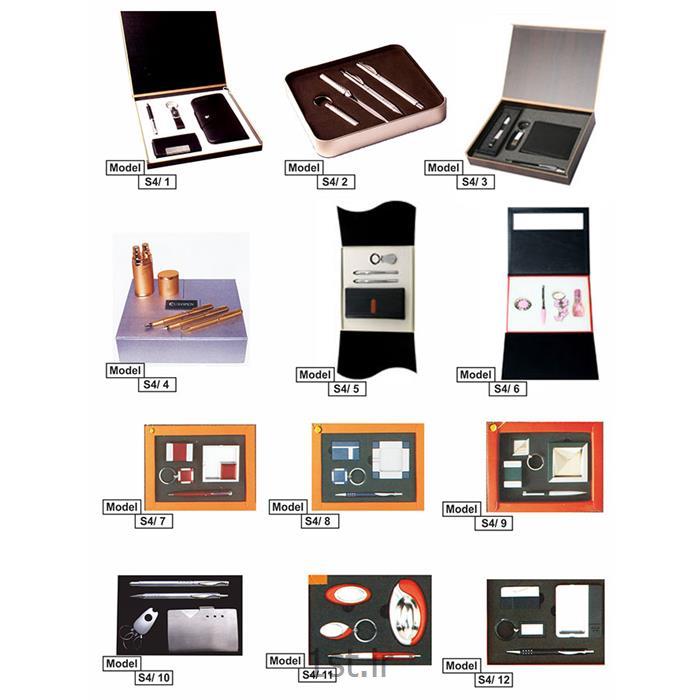 عکس سایر لوازم اداری و آموزشیست تبلیغاتی 4 تایی با جعبه