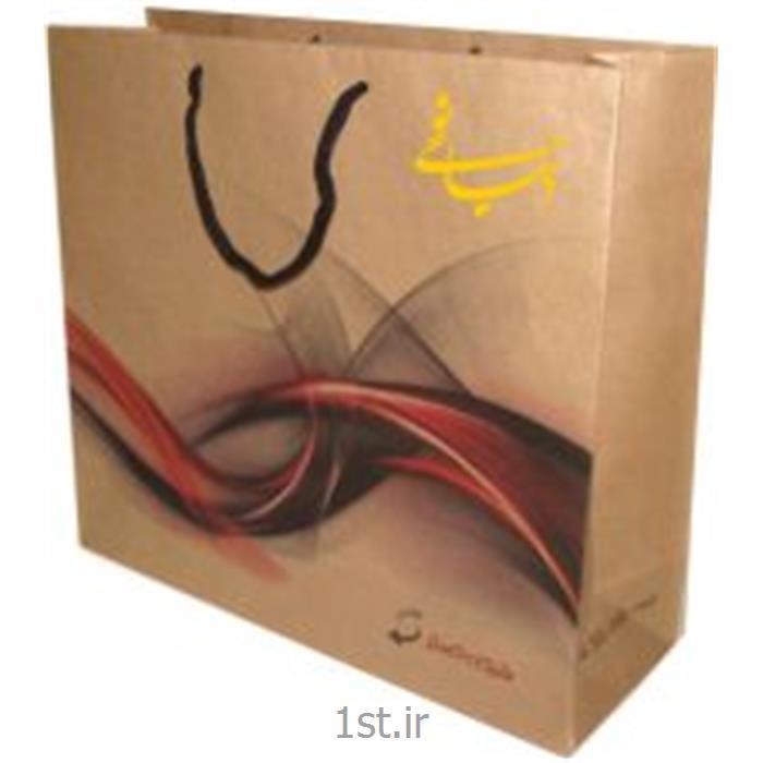 عکس پاکت بسته بندی ( تبلیغاتی )ساک دستی کاغذی