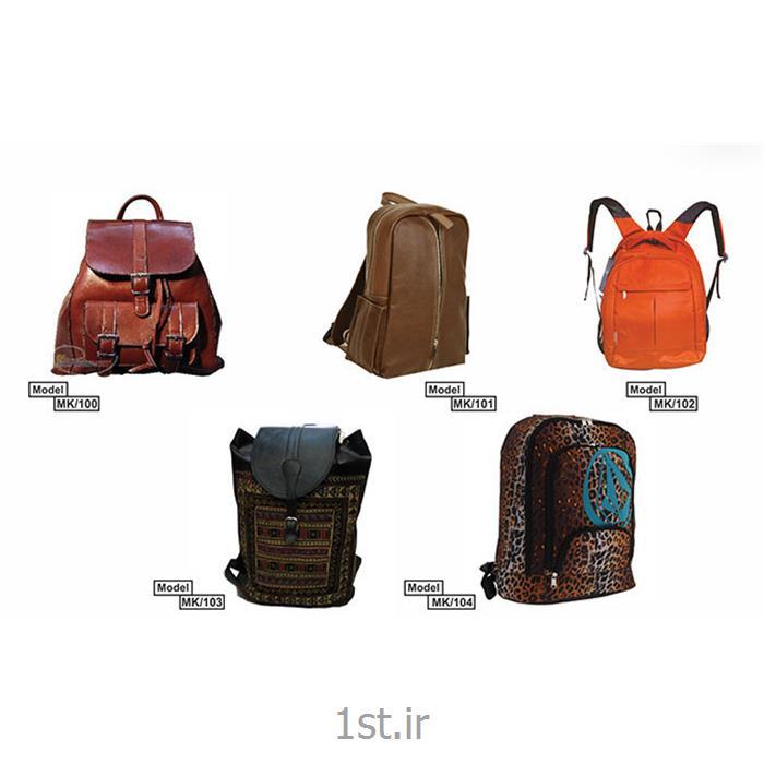 عکس محصولات چرمیکوله پشتی چرمی و پارچه ای تبلیغاتی