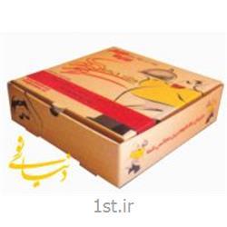 جعبه پیتزا یک تکه