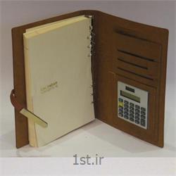 عکس دفتر و دفترچهسررسید ماشین حساب دار با چاپ اختصاصی