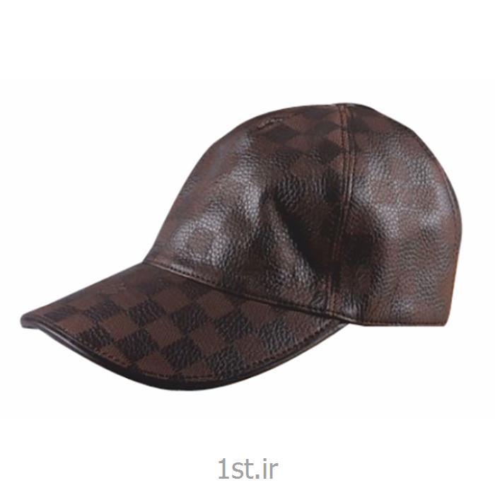 کلاه لبه دار چرمی و مخمل<