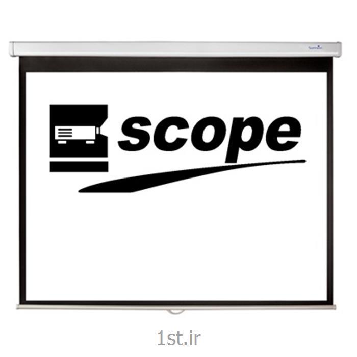 پرده نمایش سقفی دستی اسکوپ SCOPE