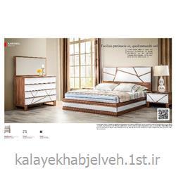 تختخواب مدل کارامل