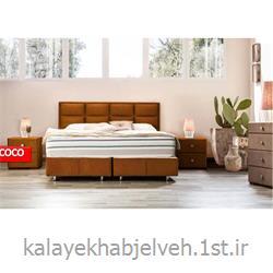 باکس تختخوابی صندوقدار با تاج 7