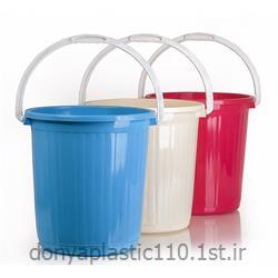 سطل 18 لیتری پلاستیکی بدون درب