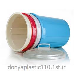 سطل زباله 50 سانتی پلاستیکی  با درب