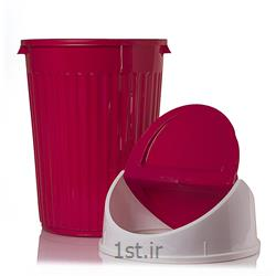 سطل شهروند 2 با درب بادبزنی پلاستیکی 60 لیتری