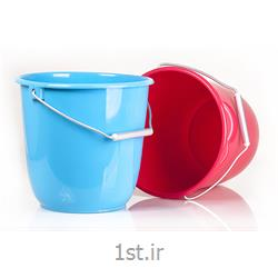 سطل 16 لیتری پلاستیکی با دسته آلومینیوم
