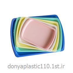 سینی مدل نرگس پلاستیکی در ابعاد مختلف