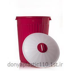 سطل زباله سوپر با درب پلاستیکی 60 لیتری