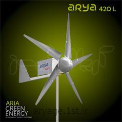 عکس ژنراتور های انرژی پاکتوربین بادی arya 420 L