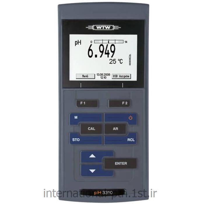 ph متر پرتابل مدل 3310 wtw