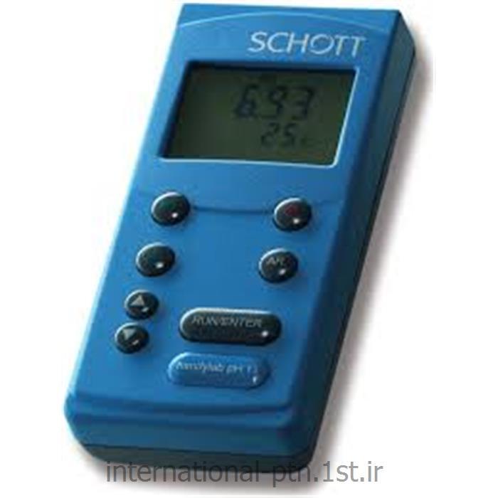 EC متر پرتابل کمپانی Schott آلمان