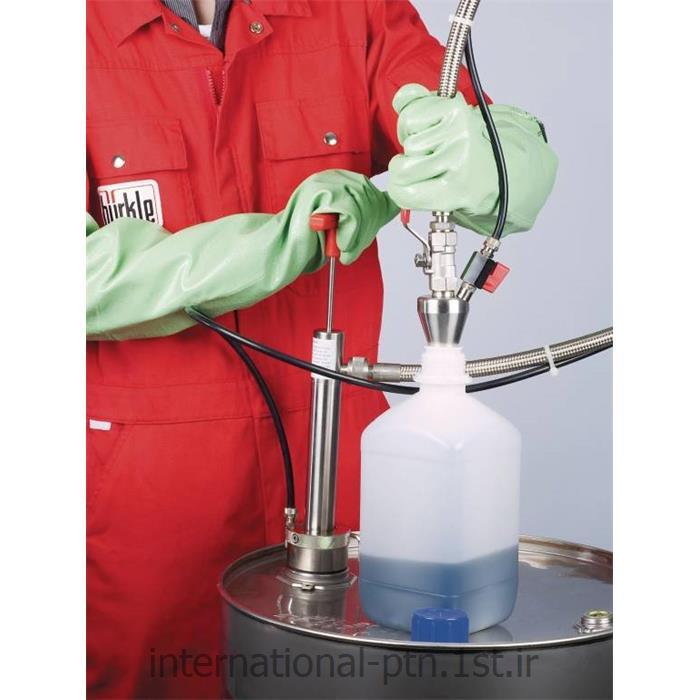 بارل پمپ با استیل ضد زنگ مخصوص گاز مایع کمپانی burkle آلمان