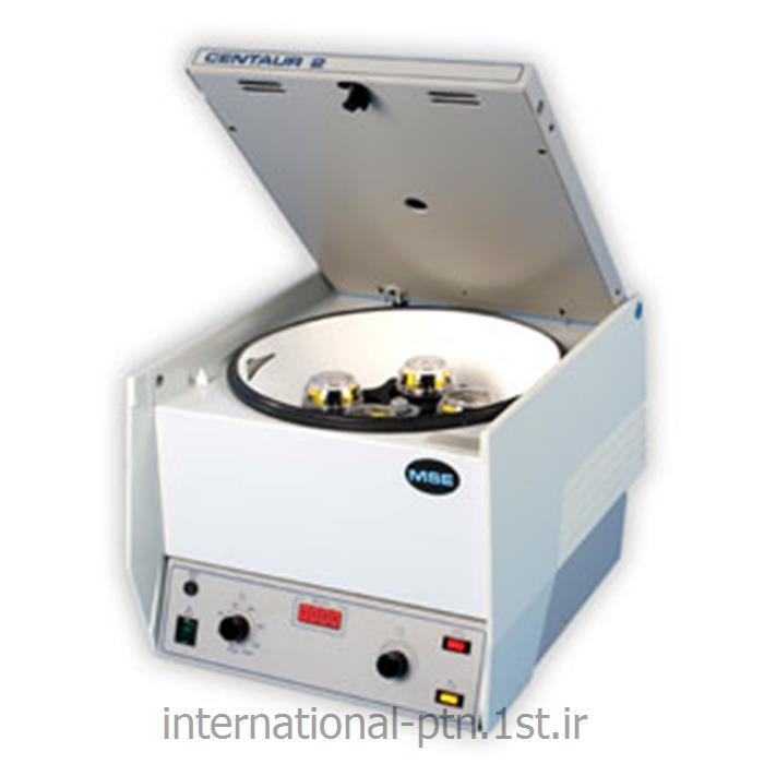 عکس سانتریفیوژ آزمایشگاهی (دستگاه گریز از مرکز)سانتریفیوژ آزمایشگاهی کمپانی MSE انگلیس