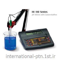 pH متر رومیزی کمپانی Hanna ایتالیا