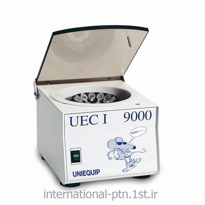 عکس سانتریفیوژ آزمایشگاهی (دستگاه گریز از مرکز)میکروسانتریفیوژ آزمایشگاهی مدل UEC1 کمپانی Uniequip آلمان