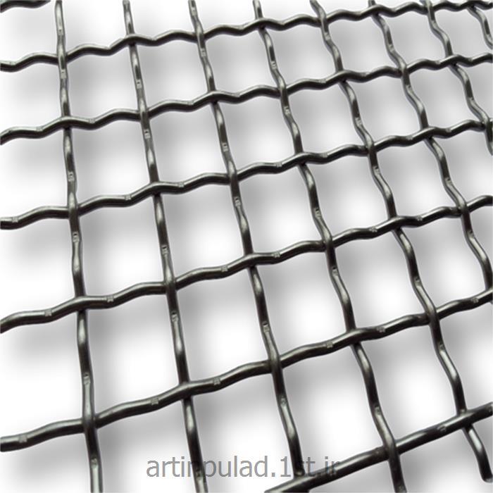 عکس مصالح ساختمانی فلزیتوری پرسی ( توری بافتنی )