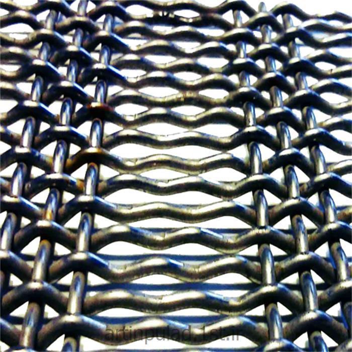 عکس مصالح ساختمانی فلزیتوری سرندی (توری سنگ شکن)