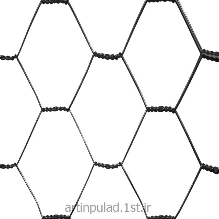 عکس مصالح ساختمانی فلزیتوری فرنگی ( توری شش ضلعی )