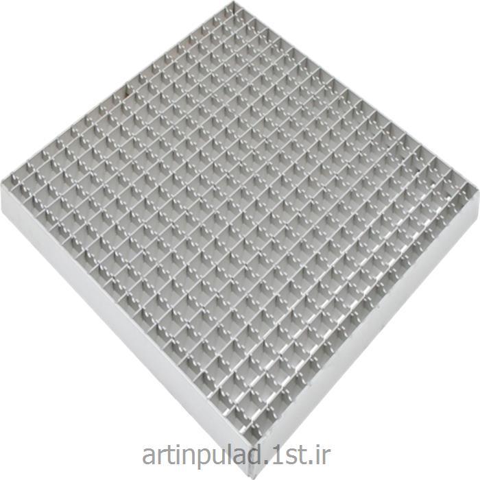 عکس مصالح ساختمانی فلزیگریتینگ ( شبکه تسمه ای )