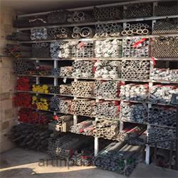 لوله فلزی صنعتی درزدار