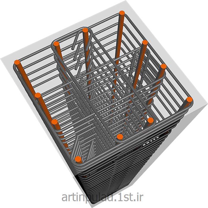 عکس مصالح ساختمانی فلزیخاموت ( بست میلگردی )