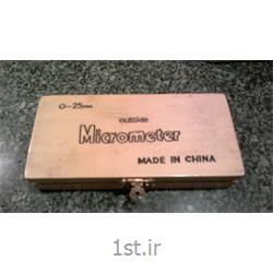 عکس میکرومترمیکرومتر میلیمتری با دقت 0.01 ساخت چین