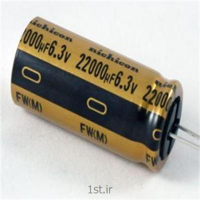 عکس خازن هاخازن الکترولیت DC دی سی NICHICON
