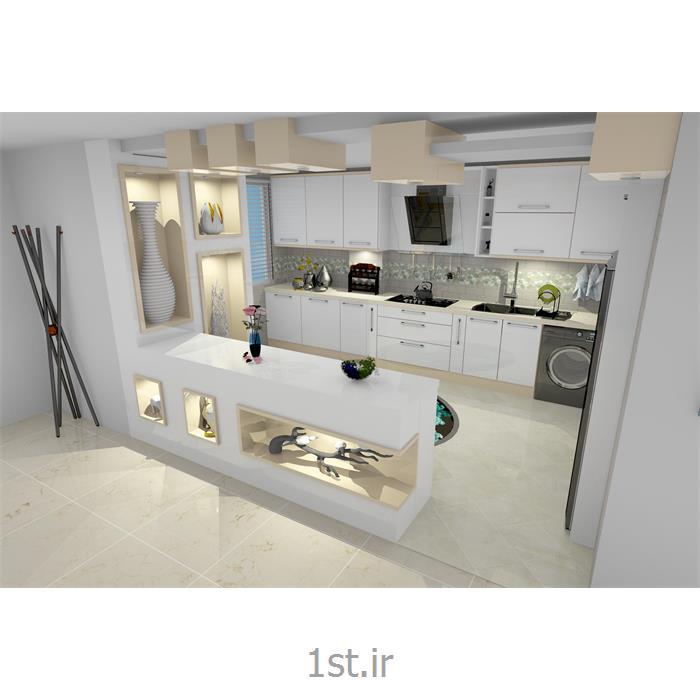 عکس طراحی دکورطراحی کابینت و دکوراسیون آشپزخانه با جدید ترین متد روز