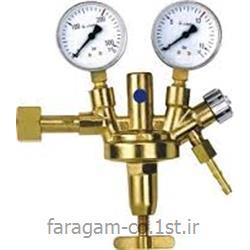 عکس رگولاتور (رگلاتور) فشار ( تنظیم کننده فشار )رگلاتور ( رگولاتور ) گاز استیلن زینسر آلمان ZINSER