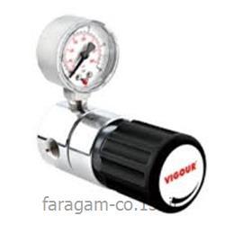 عکس رگولاتور (رگلاتور) فشار ( تنظیم کننده فشار )رگلاتور ( رگولاتور ) گاز دی اکسید کربن CO2  ویگور  VIGOUR
