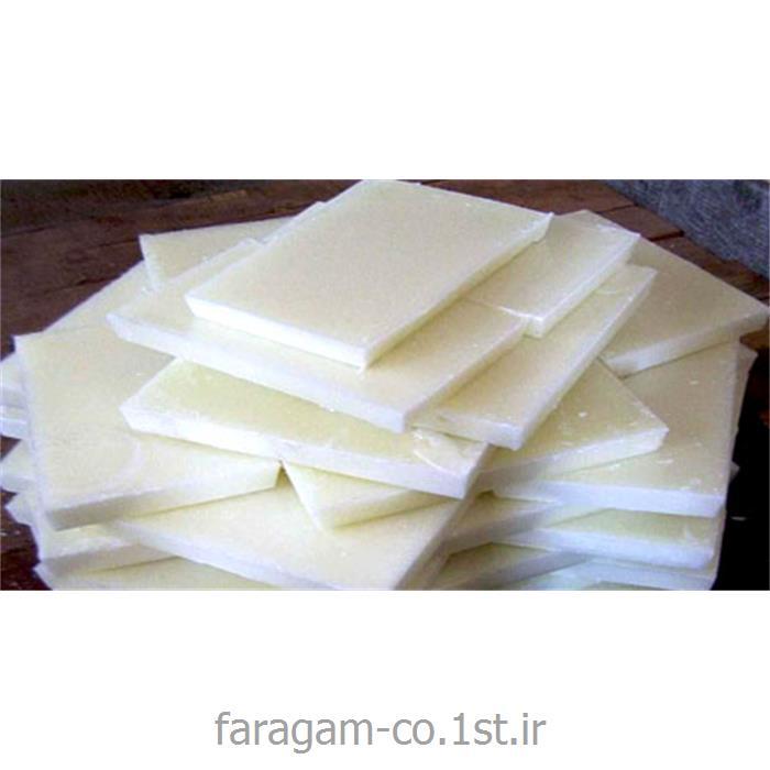 عکس پارافینپارافین جامد سفید PARAFFIN  گرید 3 - 5 درصد