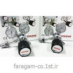 عکس رگولاتور (رگلاتور) فشار ( تنظیم کننده فشار )رگلاتور ( رگولاتور ) گاز هلیوم  ویگور vigour